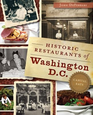 Historic Restaurants of DC cover