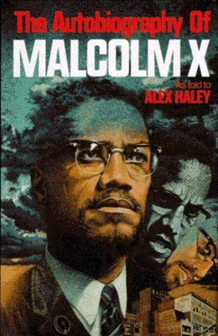 Autobiography of Malcolm X book cover