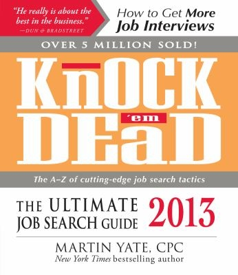 Knock Em Dead 2013 edition cover