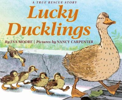 Book cover for Lucky Ducklings by Eva Moore