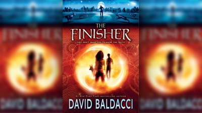The Finisher book art