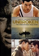 Unbroken DVD Cover.