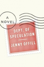 Dept. of Speculation book cover.