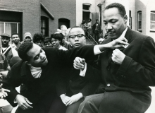 Martin Luther King at DC Parade
