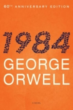 """Book cover of """"Nineteen Eighty-Four"""" by George Orwell"""