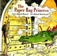 Paper Bag Princess Book Cover