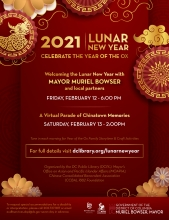 2021 Lunar New Year Flyer