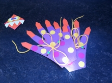 Monster hands craft image