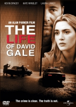 The Life of David Gale DVD cover.