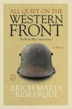 """Image of book cover for """"All Quiet on the Western Front"""""""