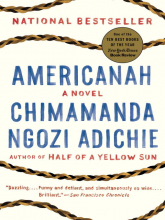 Americanah book cover
