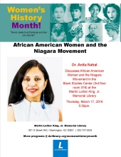 Women's History Month African American Women
