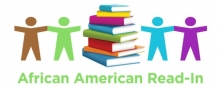 Black History Month Read-In logo