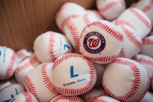 Washington Nationals soft baseballs