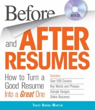 Before and After Resumes cover