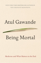 Being Mortal by Atul Gawande cover