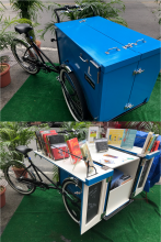 The Book Bike: a Library Takeout Vehicle