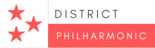 Logo for the District Philharmonic