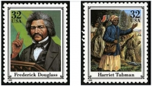 These first-class commemorative postage stamps were issued in 1995 by the U.S. Postal Service.