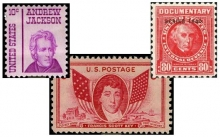 United States postage stamps that depict the individuals to be discussed in this talk,