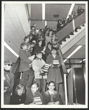 Children at the Chevy Chase Library 1968