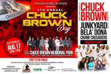 Chuck Brown Day 2019