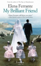 Image of My Brilliant Friend book cover