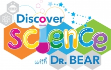 Discover Science with Dr. Bear logo