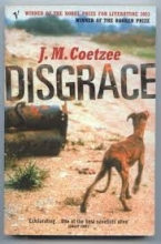 Book cover image of Disgrace: A Novel by J.M. Coetzee