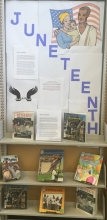 Juneteenth Display Board