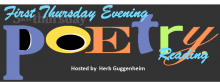First Thursday Evening Poetry Reading Series 2017