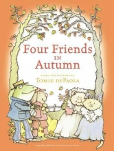 """Four Friends in Autumn"" book cover"
