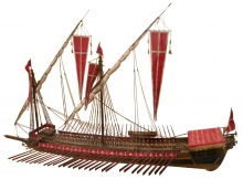 Seafaring vessel of the era, courtesy Wikicommons.