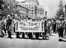 Archival Image of the Gay Liberation Task Force