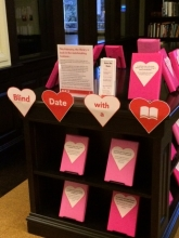 Image: Georgetown Blind Date with a Book Display