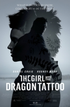"Poster for the Movie ""The Girl with the Dragon Tattoo."""