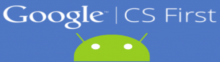 Picture of the Google CS First Logo