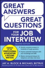 Great Answers Great Questions cover