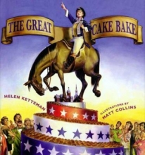 """The Great Cake Bake"" Book Cover"