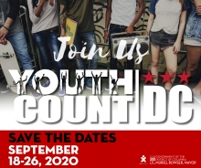 Save the Date for Youth Count DC
