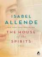 House of the spirits by Isabel Allende cover