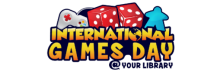 International Games Day logo.