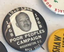 Protest Button Art Workshop