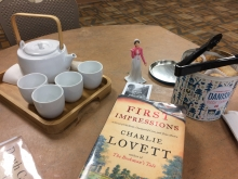 Book Club Tea and Jane Austen Action Figure