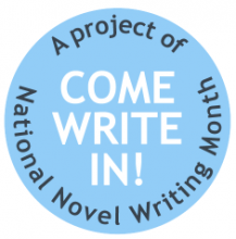 Come Write In logo.