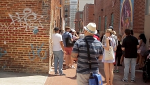 Walking Tour in D.C. Alley Museum