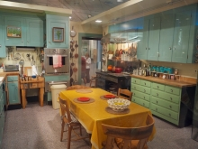 Julia Childs Kitchen at the Smithonian Museum