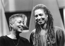 June Jordan and Angela Davis