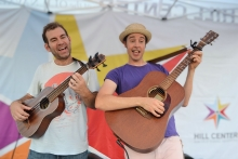 King Bullfrog: a musical duo for children's programs