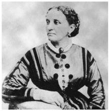 Portrait of Elizabeth Keckley.